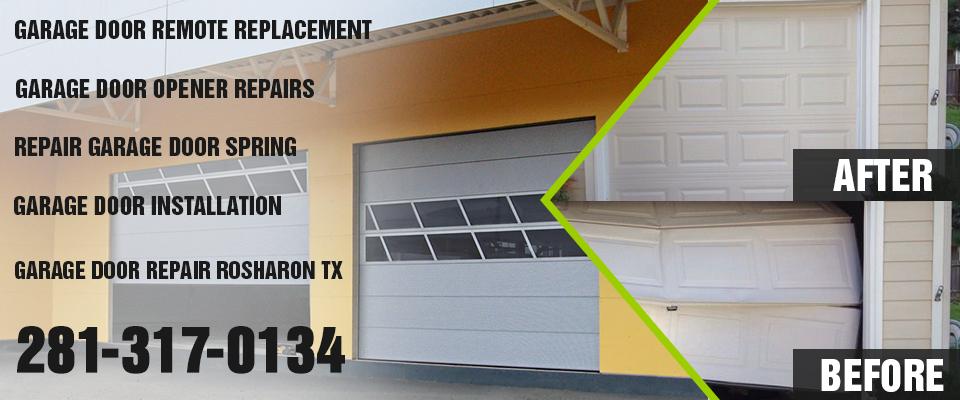 commercial garage door rosharon tx