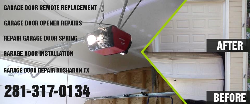 openers garage door rosharon tx