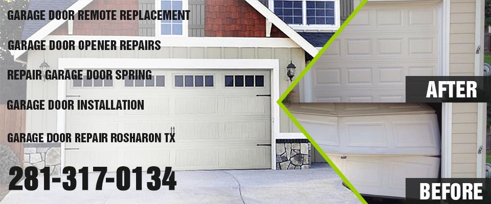 residential garage door rosharon tx